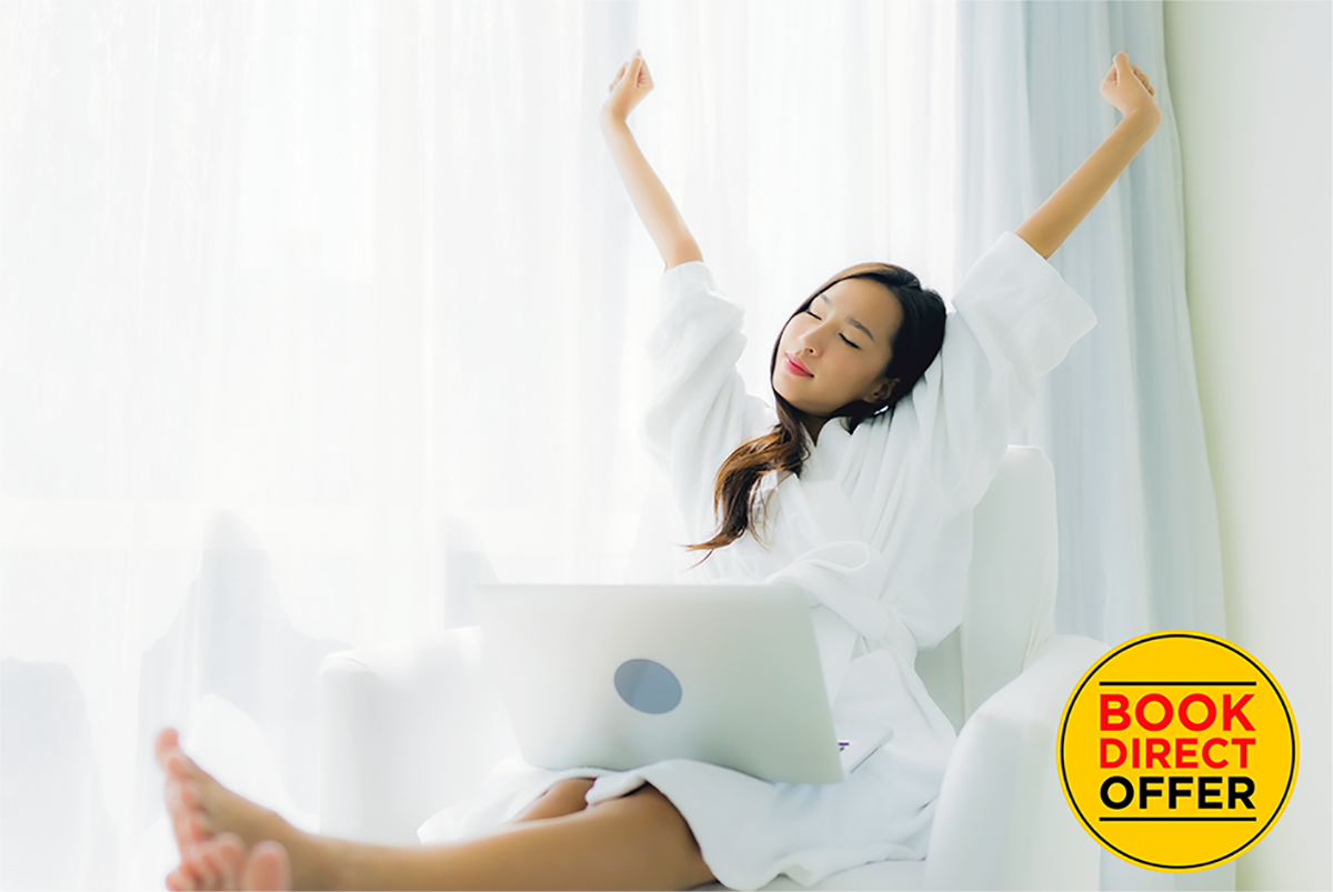 Why work from home when you can Work From Hotel from RM90 onwards!