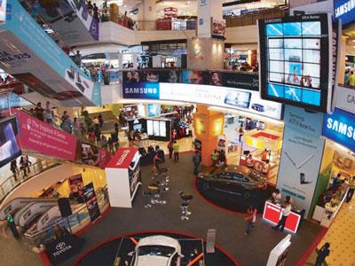 Plaza Low Yat shopping centre in Bukit Bintang